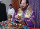 Первая Архиерейская Литургия Владыке Амвросия (Фрумоаса 07.04.2012)